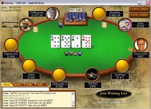 PokerstarsTafel